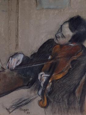 L'Altiste, 1880 by Edgar Degas