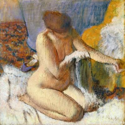 La Sortie Du Bain by Edgar Degas
