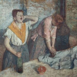 Les Repasseuses (Two Laundresses) by Edgar Degas