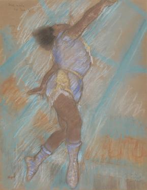 Miss Lala at the Cirque Fernando by Edgar Degas