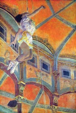 Miss Lala in Circus Fernando by Edgar Degas