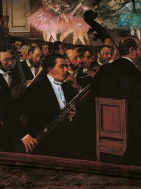 Orchestra at the Opera House by Edgar Degas