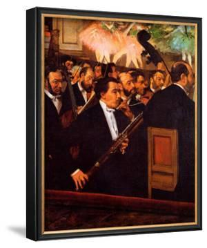 Orchestra at the Opera by Edgar Degas
