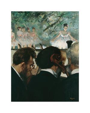 Orchestra Musicians, 1872 by Edgar Degas