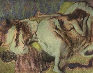 Repose by Edgar Degas