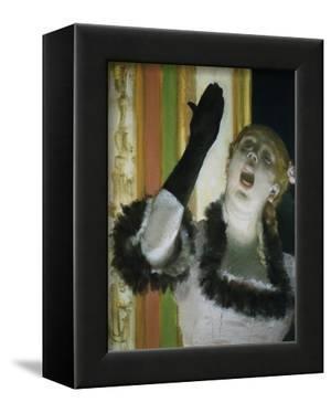 Singer with Glove by Edgar Degas