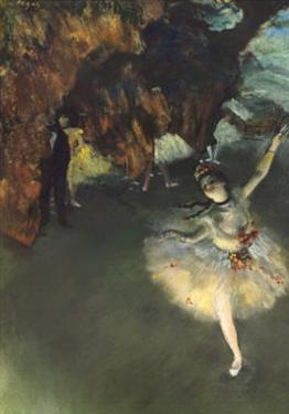 Star by Edgar Degas
