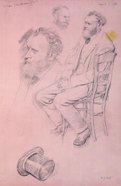 Study for a Portrait of Edouard Manet by Edgar Degas