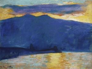 Sunrise, 1896 by Edgar Degas