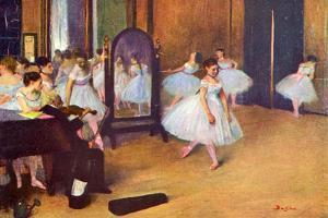 Edgar Degas The Dance Hall Art Print Poster