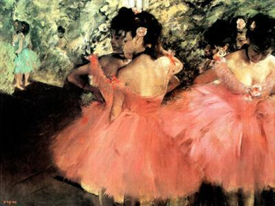 Edgar Degas (The Dancers) Art Poster Print