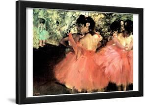 Edgar Degas (The Dancers) Art Poster Print