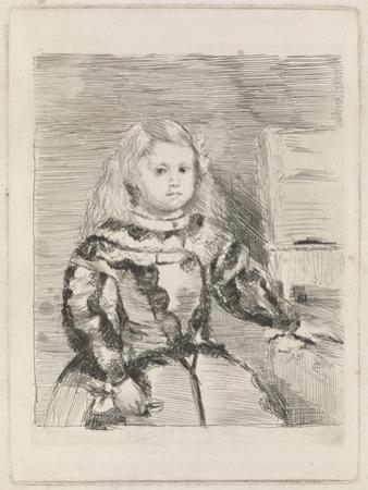 The Infanta Margarita, 1860-1 by Edgar Degas