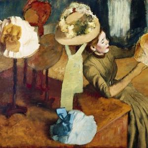 The Millinery Shop, 1879/86 by Edgar Degas