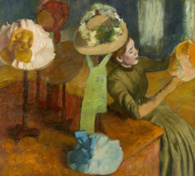 The Millinery Shop, 1879-86 by Edgar Degas