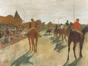 The Parade, c.1866-1868 by Edgar Degas
