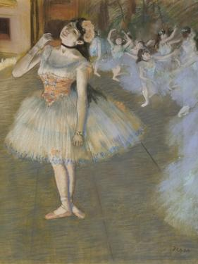The Star, 1879-81 by Edgar Degas