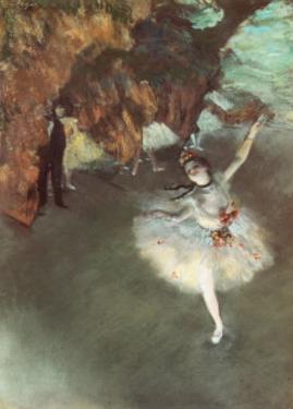 The Star by Edgar Degas