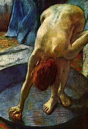 Edgar Degas The Tub Art Print Poster