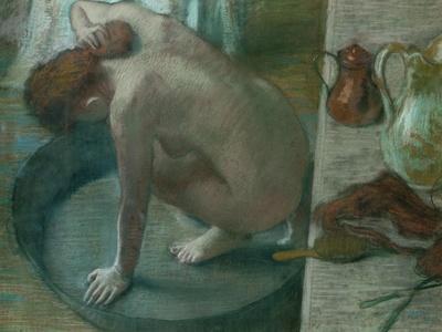 The Tub (Bathing Woman), 1886