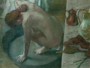 The Tub (Bathing Woman), 1886 by Edgar Degas