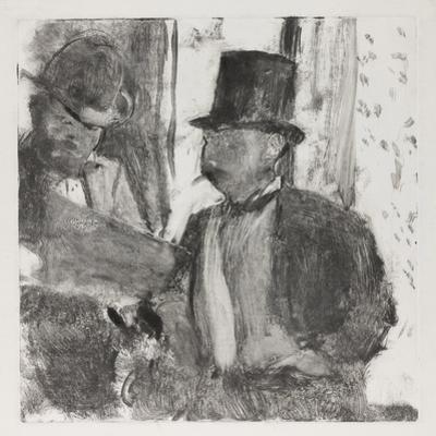 The Two Connoisseurs, c.1880 by Edgar Degas
