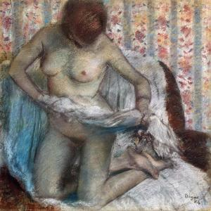Toilet of a Woman, 1884 by Edgar Degas