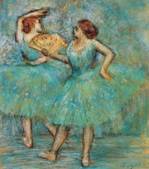 Two Dancers, C. 1905 by Edgar Degas