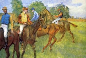 Edgar Degas Weigh Out Art Print Poster