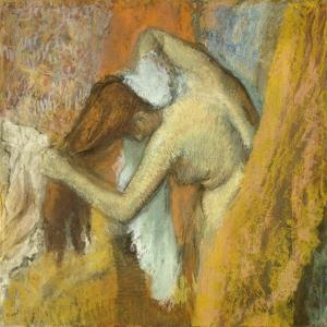 Woman at Her Toilette, 1900-05 by Edgar Degas