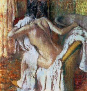 Woman Drying Herself, c.1888-92 by Edgar Degas