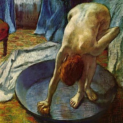 Woman in a Tub, 1886 by Edgar Degas