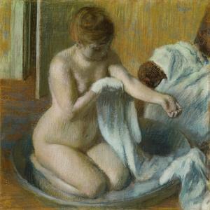 Woman in a Tub by Edgar Degas