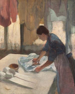 Woman Ironing, c.1876 - 1887 by Edgar Degas