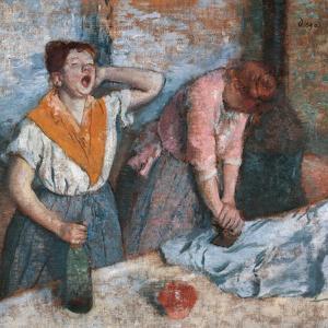 Women Ironing by Edgar Degas