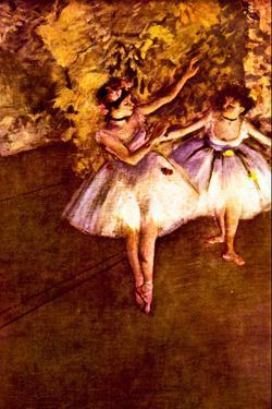Edgar Degas Young Dancers