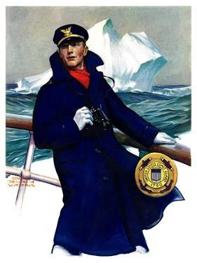 """Coast Guard,""February 11, 1933 by Edgar Franklin Wittmack"