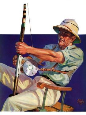 """Deep Sea Fisherman,""February 2, 1935 by Edgar Franklin Wittmack"