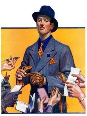 """Movie Idol,""February 5, 1938 by Edgar Franklin Wittmack"