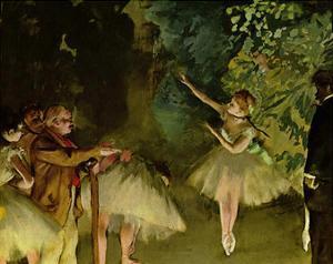 Edgar Germain Hilaire Degas (Ballet rehearsal) Art Poster Print