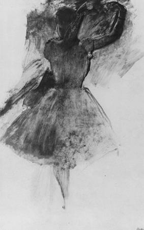 Edgar Germain Hilaire Degas (Dancer with raised arms) Art Poster Print