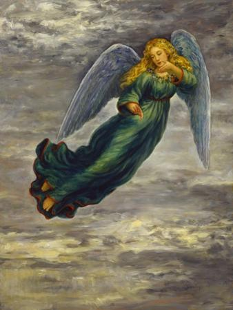 Angel in the Clouds by Edgar Jerins
