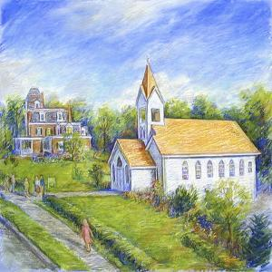 Country Church by Edgar Jerins