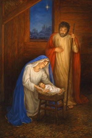 Jesus Mary Joseph by Edgar Jerins