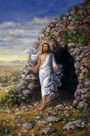 Jesus Rises by Edgar Jerins