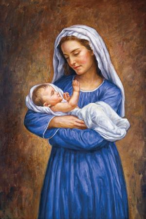 Mary and Baby Jesus by Edgar Jerins