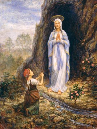 Praying by Edgar Jerins