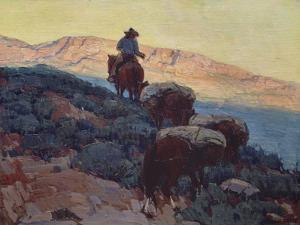 Cowboy on the Trail by Edgar Payne