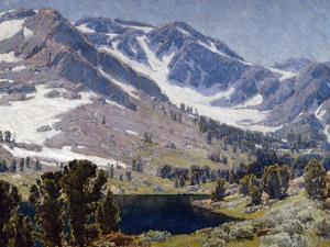 Mountain Lake Sierras by Edgar Payne