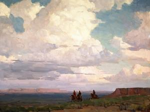 Near Canyon De Chelly by Edgar Payne